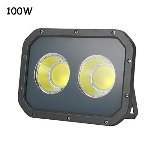 (LED Flood Light,waterproof And Explosion-proof Spotlight Outdoor Work Light Street Light Searchlight Site Lighting (Color : 100W))