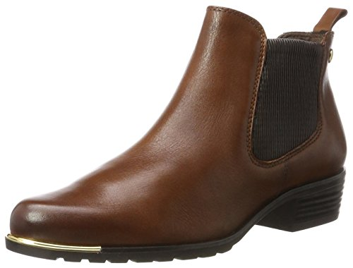 Caprice Damen 25413 Chelsea Boots Braun