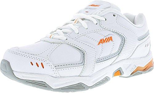 Avia Chaussures Dentraînement Avi-tangent Blanc / Rythme Orange / Chrome Argent