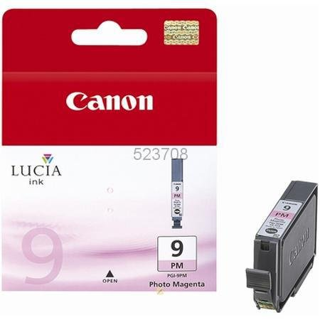 Canon Lucia PGI-9PM Photo Magenta Ink Cartridge - - 1039b002 Ink Photo Magenta