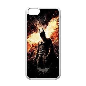 Batman FG0080642 Phone Back Case Customized Art Print Design Hard Shell Protection Iphone 5C