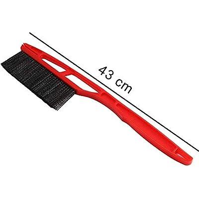 Houkiper Snow Brush Ice Scraper for Car Windshield, Snow Removal for Car, Snow Scraper and Brush Shovel Detachable Snow Mover for Auto SUV Truck Windshield Windows: Automotive