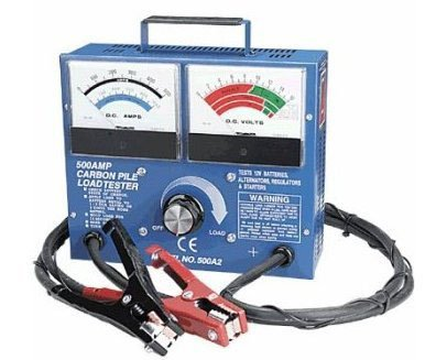 PMD Products 500 Amp Carbon Pile Battery Load Tester 12V Volt with cable sense wires by PMD Products (Image #1)