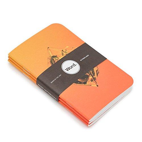 Word. Notebooks Artist - Justin Maller (3-pack) Photo #6