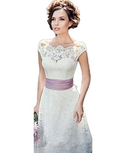 Braut Hochzeitskleider Brautkleider Hochzeitskleid Abendkleid Bride Weiß Kleider Party Weiß Brautkleid Spitze Meerjungfrau Kleid CoCogirls 6ZwB8B
