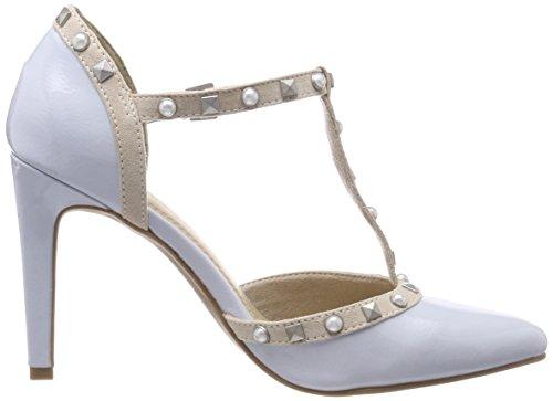 Femme COM Bleu Com Escarpins Tozzi Pat Patent Candy 24412 Sky Marco UB6twqOx