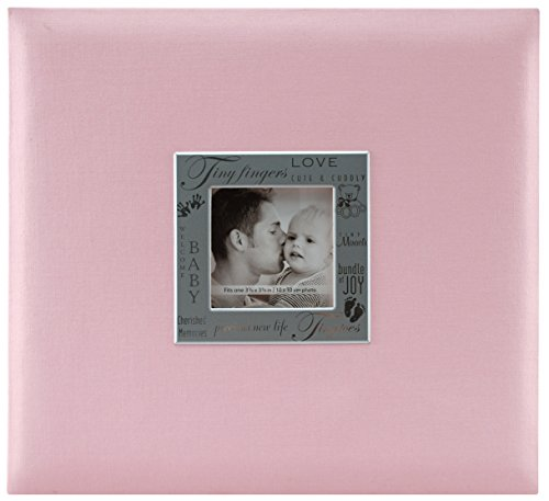 MBI 13.2x12.5 Inch Expressions Postbound Album 12x12 Inch Pages, Pink (803511)