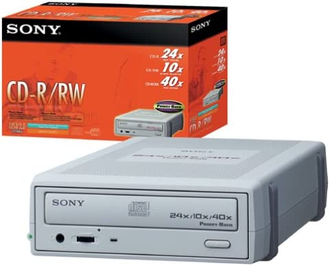 CRX1750U//A2 Sony 24x External CD-RW Drive