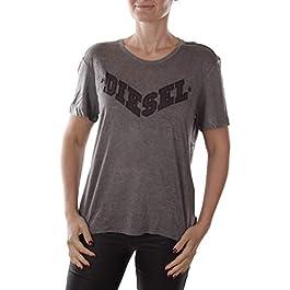 Diesel T-Morivglitter Maglietta Ladies T-Shirt
