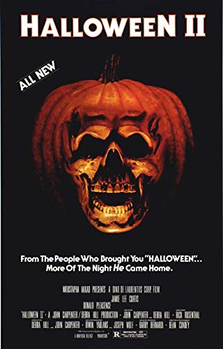 Halloween 2: The Nightmare Isn't Over! Movie Poster (11 x 17 Inches - 28cm x 44cm) (1981) Style A -(Jamie Lee Curtis)(Donald Pleasence)(Jeffrey Kramer)(Charles Cyphers)(Lance Guest)