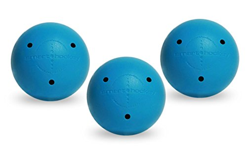 Smarthockey 6oz Smart Hockey Training Ball - BLUE 3-PACK