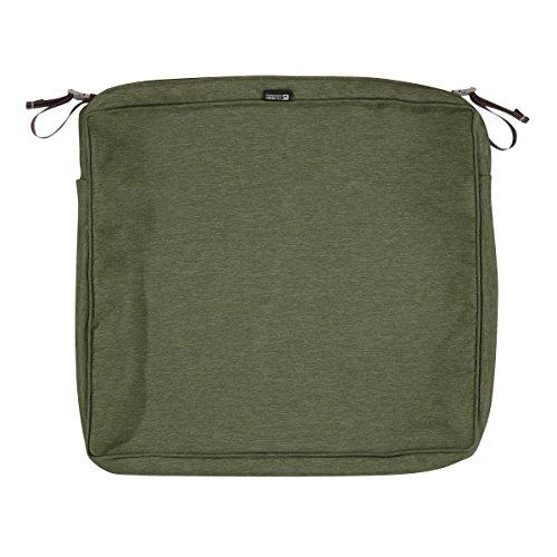 Fern Slipcover - Classic Accessories Montlake Patio FadeSafe Seat Cushion Slip Cover, Fern, 23