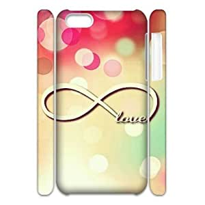 infinity love CUSTOM 3D Cell Phone Case for iPhone 5C LMc-01527 at LaiMc