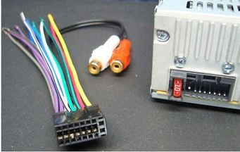 41Y43VfUSVL amazon com xtenzi wire harness and speaker plug dual 16 pin xd dual radio wiring harness at virtualis.co