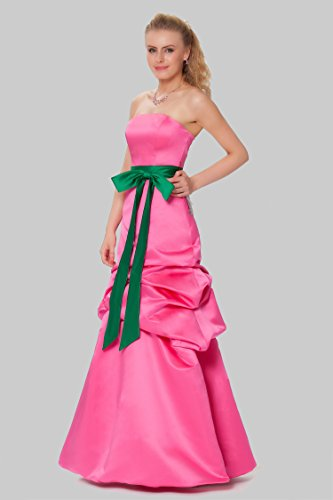 Lightfuchsia entero tirantes damas las sin de Encuadre de Gorgeous vestido de formal noche cuerpo SEXYHER EDJ1573 honor de pnSATqn1