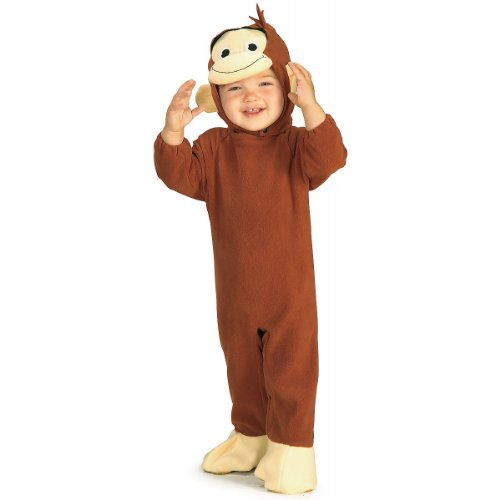 Curious George Baby Infant Costume - (Curious George Baby Costumes)