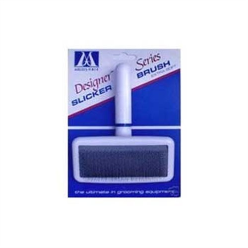Millers Forge Dog Grooming - Millers Forge Stainless Steel Pins Designer Series Soft Slicker Pet Grooming Brush, Small