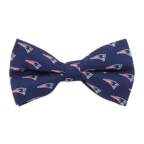 New England Patriots Repeated Logo Bow Tie - NFL Football Team