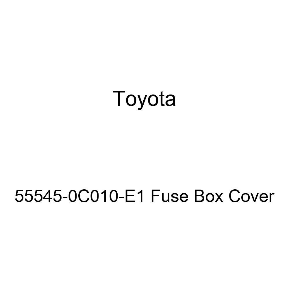 Toyota 55545-0C010-E1 Fuse Box Cover