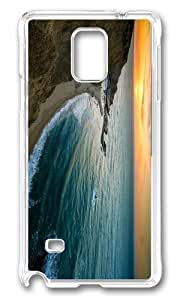Adorable coast sundown Hard Case Protective Shell Cell Phone Samsung Galaxy Note3 - PC Transparent