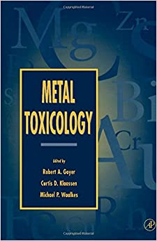 Metal Toxicology: Approaches and Methods: 9780122943751 ...