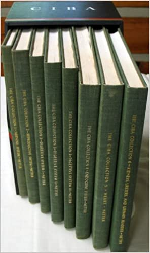 The CIBA Collection of Medical Illustrations Six Volume Set