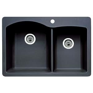 Blanco 511-607 Diamond 1-3/4 Bowl Kitchen Sink (Anthracite Finish)