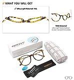 Gaoye Blue Light Blocking Glasses, Stylish Retro