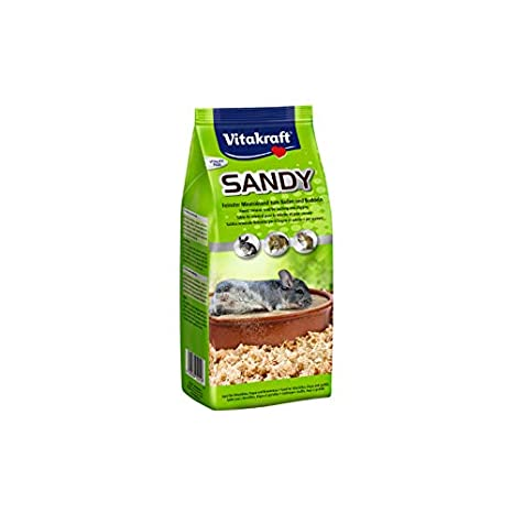 Vitakraft 1571260031 - Arena para Chinchilla Sandy: Amazon.es ...