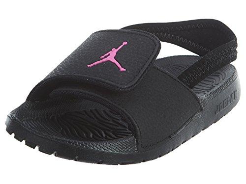 Jordan Hydro 6 Toddlers Black Hyper Pink