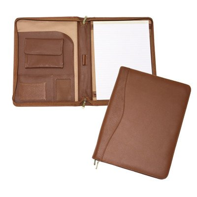 Zip-Around PadFolio Color: Tan