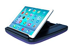 Prop \'n Go Slim - Adjustable Bed Holder & Lap Stand for iPad, iPad mini, Tablets and eReaders with Multi Angle Control (Purple)