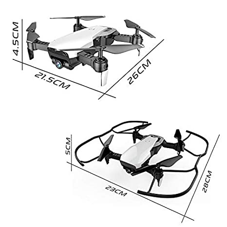 Amazon Com Fpv Selfie Dron Foldable Drone With Camera Hd Wide Angle