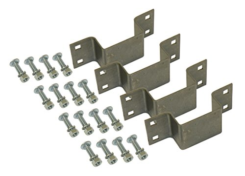 4-pack Bolt-on Stake Pockets With Mounting Hardware