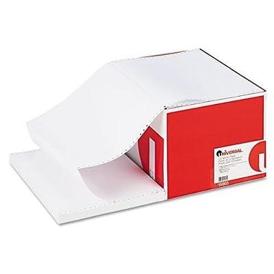 Universal 15865 Computer Paper, 20lb, 14-7/8 x 11, White, 2400 Sheets