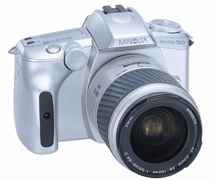 amazon com konica minolta maxxum 50 date 28 100 35mm slr camera rh amazon com Minolta Maxxum Htsi Plus Minolta Maxxum 3Xi
