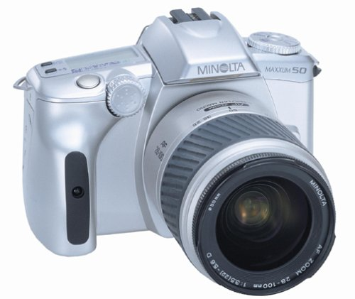 Konica Minolta Maxxum 50 Date 28-100 35mm SLR Camera
