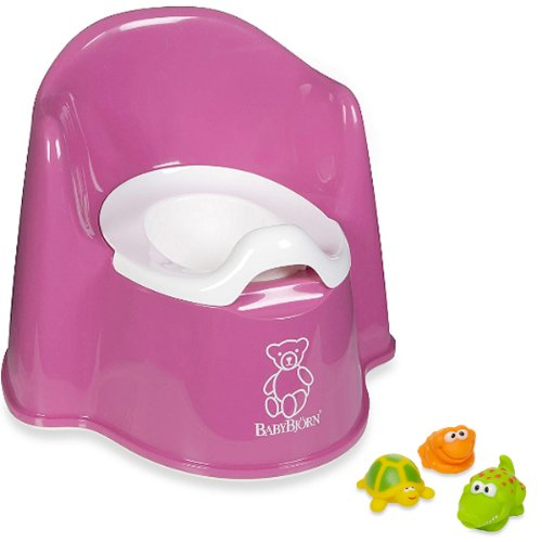 Set of Baby Jungle and Pink Baby Potty Chair