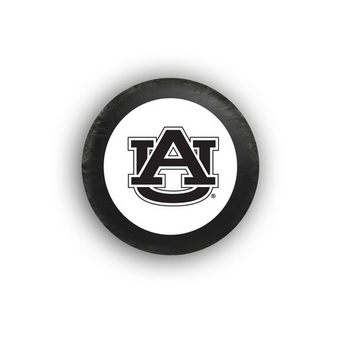 Spare Tire Cover, Toyota RAV4 Honda CRV Jeep Wrangler Liberty Hummer Ford Spare Tire Covers, Reflective College Logo, Fits Any Tire Diameter within 29 inch to 32.5 inch (Auburn University Tigers)