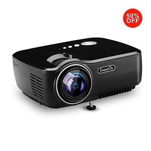 Exquizon GP70 TFT-LCD Portable HD Home Cinema P...