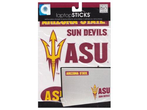 - me & my BIG ideas laptopSTICKS Removable Laptop Stickers, Arizona State Sun Devils
