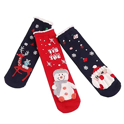 Women's Christmas Holiday Casual Socks Happy Socks for Women with Gift Box