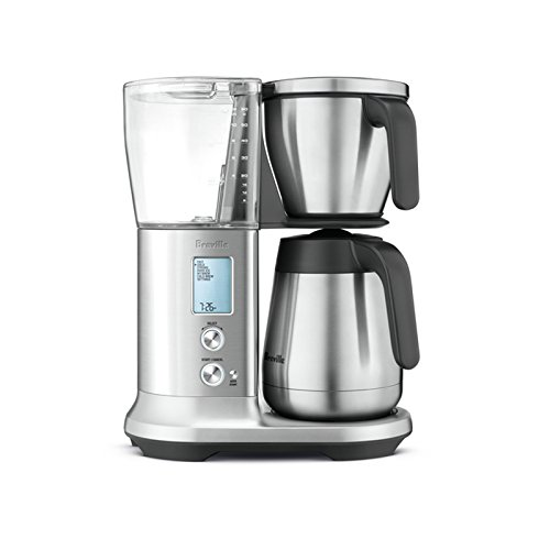 Breville Precision Brewer Pid Temperature Control Thermal Coffee Maker w/ Pour Over Adapter Kit - BDC455BSS