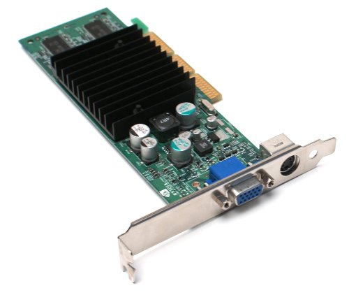 Genuine Dell / nVidia GeForce4 5H175 MX420 64MB VGA /TV-Out (Svideo) High Profile Full Height Video Graphics Card, Fits All Systems With a Full Height / High Profile AGP Slot, Compatible Dell Part Numbers: 8Y483, 9P301, Model Number: (Agp System)