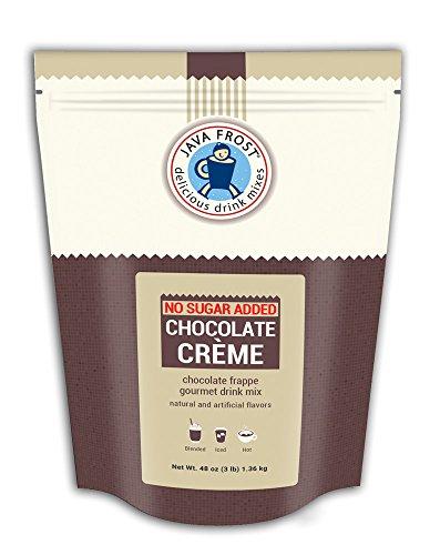 - No Sugar Added Chocolate Creme Drink Mix - 3 LB Bag