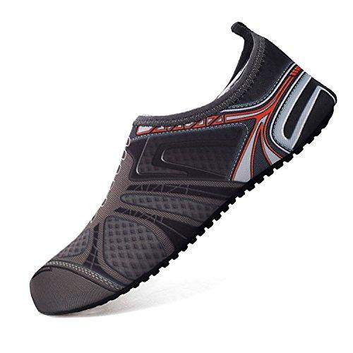 RIBIKA Water Shoes Barefoot Shoes Surf Quick-Dry Aqua Yoga Socks Swim Boating Walking by RIBIKA