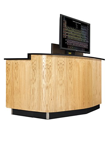 Diversified Woodcrafts 1324K Versacurve Instructor Desk, 38