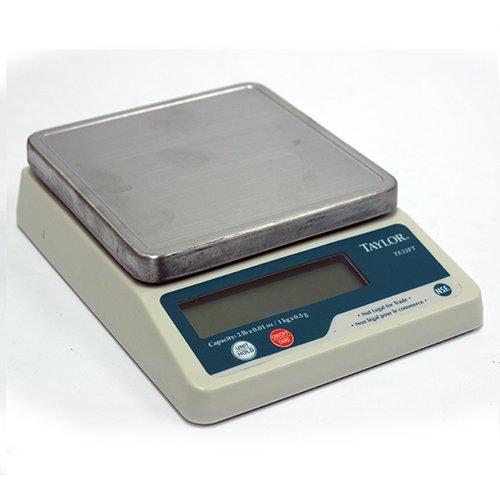 (Taylor Precision Products Taylor TE32FT Precision Digital Portion Control Scale, 2lb x .01 oz)
