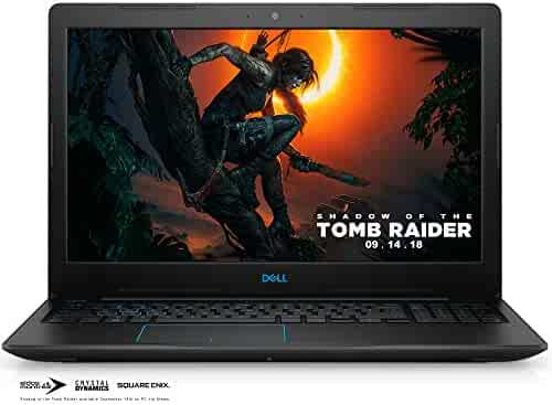 Dell G3 15 3579 Gaming Laptops, Intel Core i5-8300H,8GB RAM DDR4,256GB SSD,15.6-inch FHD IPS, NVIDIA GeForce GTX 1060 with Max Q Design Technology, 6GB GDDR5 Video Memory