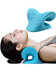 KH Neck and Shoulder Relaxer, Cervical Traction Device for Pain Relief and Cervical Spine Alignment, Chiropractic Pillow